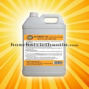 SUNRED 36 - Chất làm sạch sàn, khử bọt, chống trơn trong nhà máy