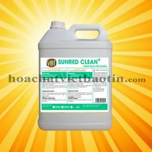 SUNRED CLEAN(+) - Chất khử khuẩn rửa thực phẩm