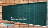 bảng chống lóa kẻ ô tiểu học kích thước 1,225x2,4m