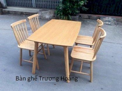 Bàn ghế khách sạn Trương Hoàng TH-BGKS07 ghế song tiện