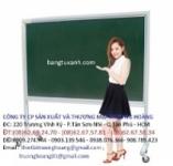 bảng trường học từ xanh có chân