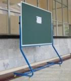 Bảng từ xanh viết phấn chân di động,180x120cm