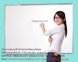 Bảng trắng mica kích thước 1200 x3600 mm
