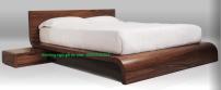 Mẫu giường ngủ đẹp - Giường ngủ gỗ óc chó - Hoàng Phát đồ gỗ óc chó