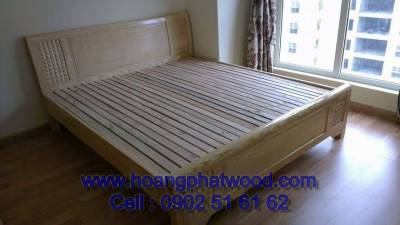 Giường ngủ gỗ ask - Bed wood bed ask