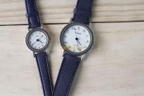 Đồng hồ cặp dây xanh (Có bán lẻ)