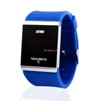 SKMEI - Đồng hồ Led cảm ứng chống nước màu xanh dương