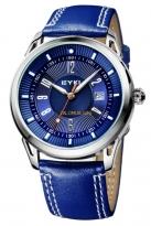 Đồng hồ nam eyki dây da EY8756 (màu xanh)