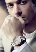 Đồng hồ nam SKMEI SK079 dây thép (mặt trắng)