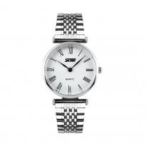 Đồng hồ nữ dây thép SKMEI SK086 (mặt trắng)