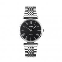 Đồng hồ nữ dây thép SKMEI SK086 (mặt đen)
