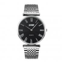 Đồng hồ nam dây thép SKMEI SK086 (mặt đen)