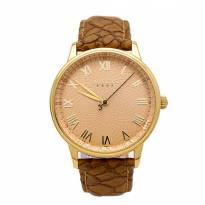 Đồng hồ nam JULIUS JA-857 dây da (nâu)