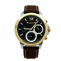 Đồng hồ nam 6 kim JULIUS JAH-055 dây da (nâu)