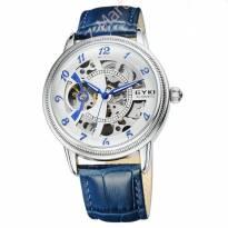 Đồng hồ nam EYKI cơ tự động dây da (xanh)