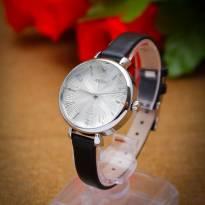 Đồng hồ nữ JULIUS JA-866 dây da (đen)