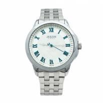 Đồng hồ nam JULIUS JA-872 dây thép (trằng bạc)