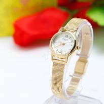 Đồng hồ nữ JULIUS JA-887 dây thép (vàng)