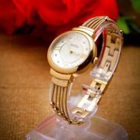 Đồng hồ nữ JULIUS JA-834 dây thép (vàng)