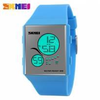Đồng hồ Led SKMEI Unisex (xanh dương)