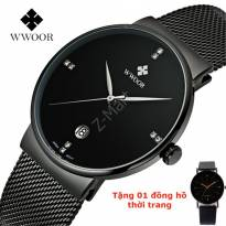 Đồng hồ nam WWOOR Business Men Pro (đen)