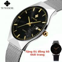 Đồng hồ nam WWoor 8016 chống nước 5ATM