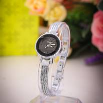 Đồng hồ nữ JULIUS JA559 dây thép (mặt đen)