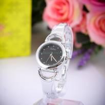 Đồng hồ nữ JULIUS JA-657 dây thép (trắng bạc)