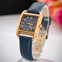 Đồng hồ nữ JULIUS JA954 dây da (xanh đen)