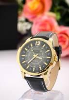 Đồng hồ nam JULIUS JA017 dây da (đen)