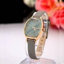 Đồng hồ nữ JULIUS JA920 dây da (xám)