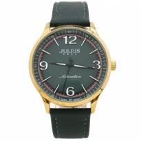 Đồng hồ nam JULIUS JA940 dây da (xanh rêu)