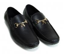 giày lười Savato màu đen (2060D)