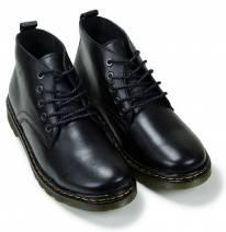 Giày nam cổ lửng màu đen (683THD)
