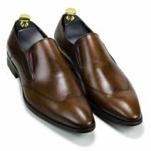 Giày lười công sở màu nâu (206)