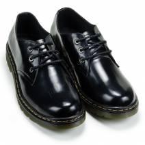 Giày Dr thấp cổ da bóng (14612)