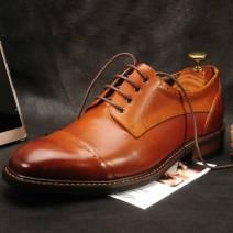 Giày tây nam Derby màu nâu (21817N)
