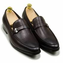 Loafer đai ngang màu nâu (66228681)