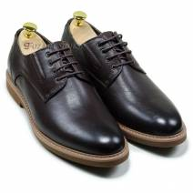 Giày nam buộc dây  màu nâu (16031681)