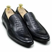Giày Lười Nam Màu Đen (21851D)