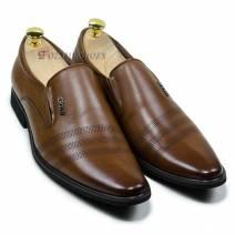 Giày tây nam lười màu nâu (300913H50N)