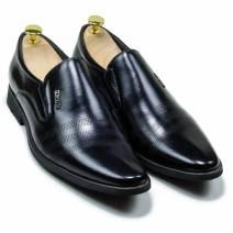 Giày tây nam lười màu đen (300913H50D)