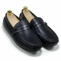 Giày lười đai da đen (MS: 201742)