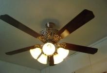 Cách lắp đặt quạt trần đèn