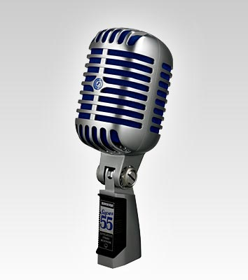 Deluxe Vocal Microphone Super 55