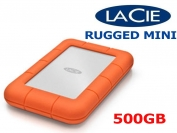 Ổ cứng di động LaCie Rugged Mini 301555 500GB 2.5in