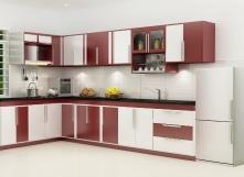 Những cách bài trí tủ bếp đẹp mắt và hiện đại