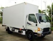 Xe tải Hyundai HD72 thùng kín composite