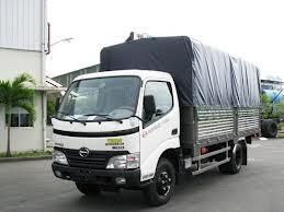 Xe tải Hino 4.5 tấn thùng mui bạt