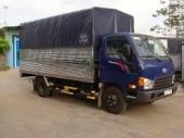 Xe tải Hyundai 1,8 Tấn HD65 thùng kèo bạt